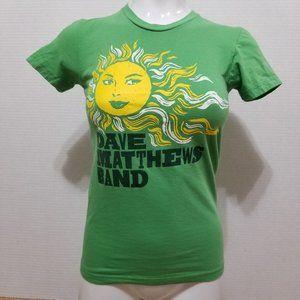 Dave Matthews Band shirt Small sun graphic DMB